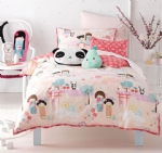 Hiccups Kawaii Quilt Cover Set
