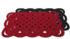 Whirly Placemat Red