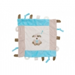 Pillow Pals security Blanket Blue Puppy